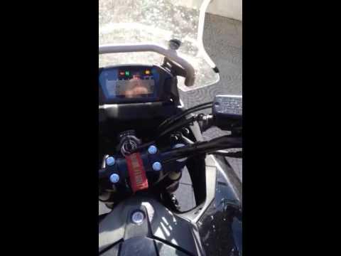Honda nc700x battery fail - YouTube