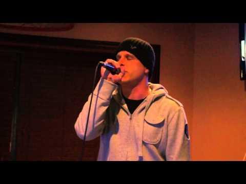 Karaoke Idol 2011 Finals. Week 1. Matt Singing Live - Lightning Crashes