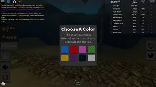 Roblox THS- How To Change Your Color in Treasure Hunt Simulator
