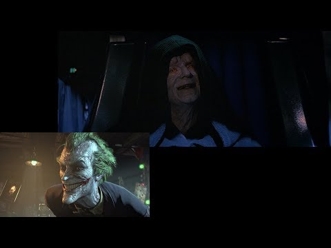 The Emperor Voiced by Mark Hamill's Joker [Source Materials]