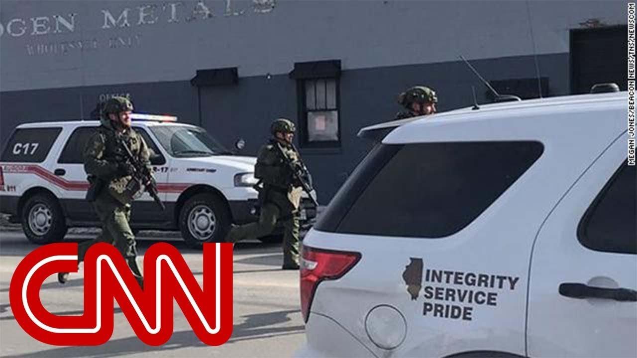 Suspected gunman in custody, 4 officers hurt in Aurora shooting   CNN breaking news