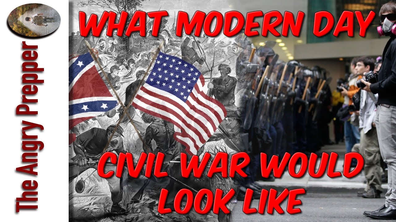 What Modern Day Civil War Could Look Like?