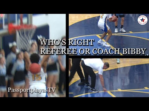 Coach Mike Bibby NOT HAPPY with Referee!!! Jaelen House LEADS Shadow Mountain w/ 23 POINTS...
