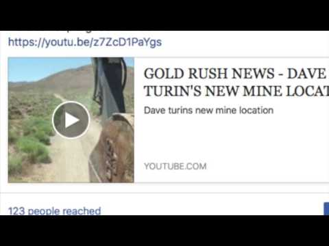 GOLD RUSH NEWS ~ Dave Turin's mine location confirmed!!