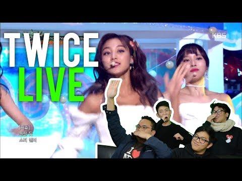 """트와이스 TWICE """"DANCE THE NIGHT AWAY"""" (LIVE stage Reactions)"""