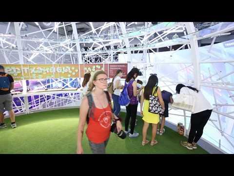Павильон СИНГАПУРА на Астана EXPO 2017 (Singapure pavilion)