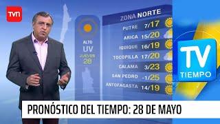 Pronóstico del tiempo para este jueves 28 de mayo | TV Tiempo