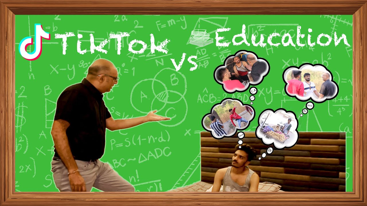 TikTok vs Education | Gujarati Comedy Video [Mungis. Best Comedy]