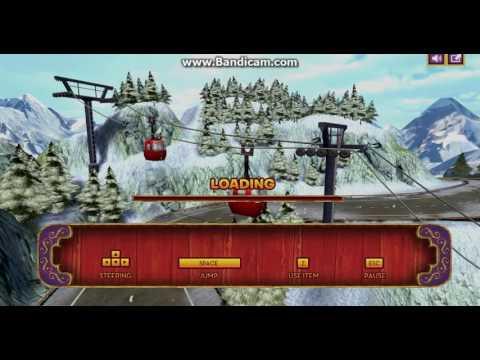 Играем в игру: Гонки Мадагаскар 3.