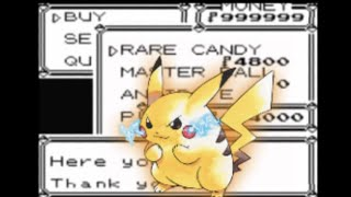 Pokemon Yellow Cheat Codes GBC