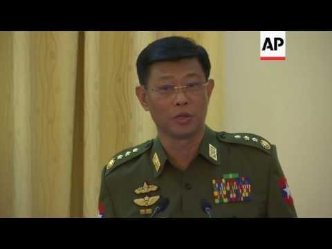 Myanmar military deny killing Rohingya Muslims