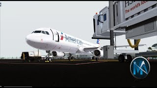 FSX - LOS ANGELES TO NEW YORK (LAX-JFK) AIRBUS A321-231 AMERICAN AIRLINES