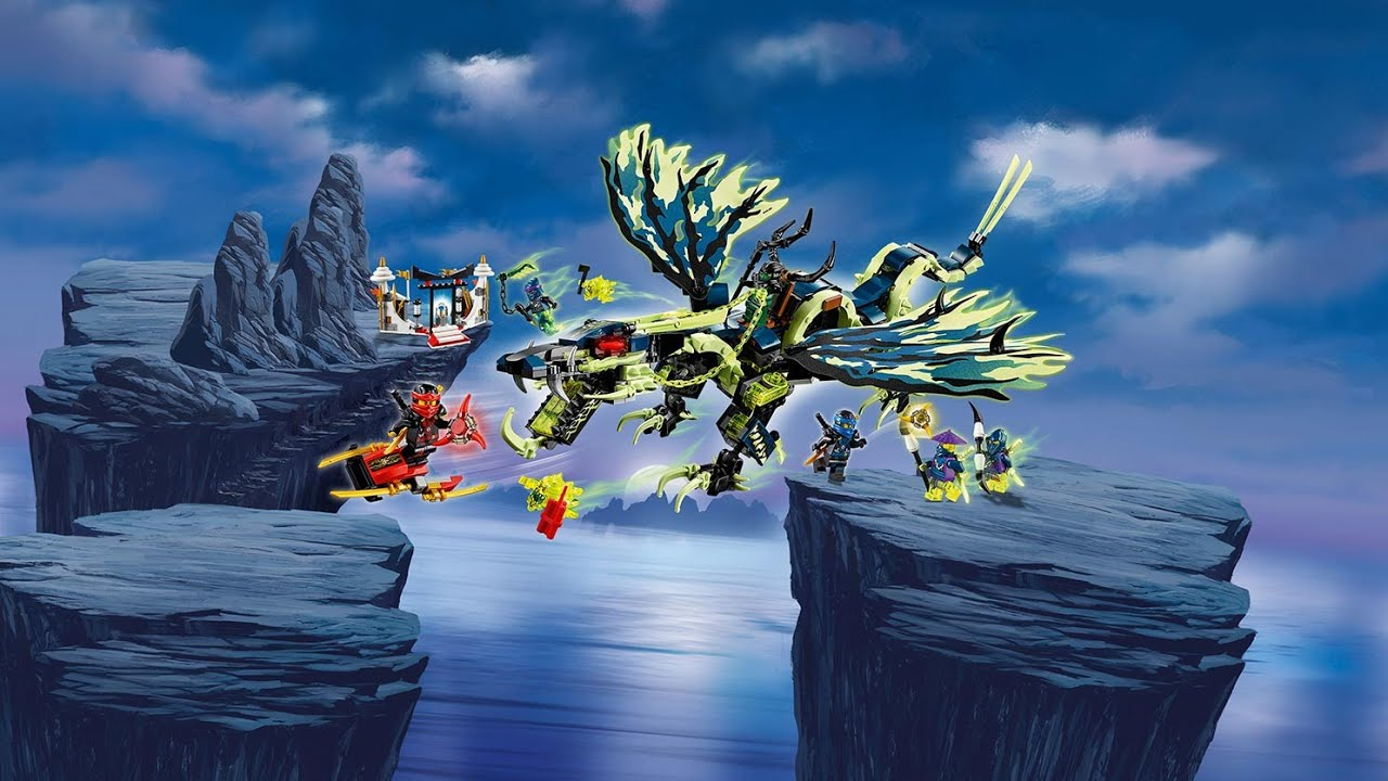 lego ninjago  atacul dragonului morro 70736  youtube