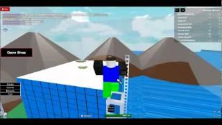 ATW Roblox Gameplay-Tsunami survival