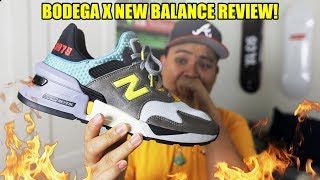 NEW BALANCE x BODEGA 'NO BAD DAYS' REVIEW + ON FEET! (WATCH BEFORE BUYING)
