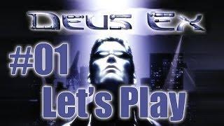 Let's Play Deus Ex [blind] (part 1 - I'm a Robot)