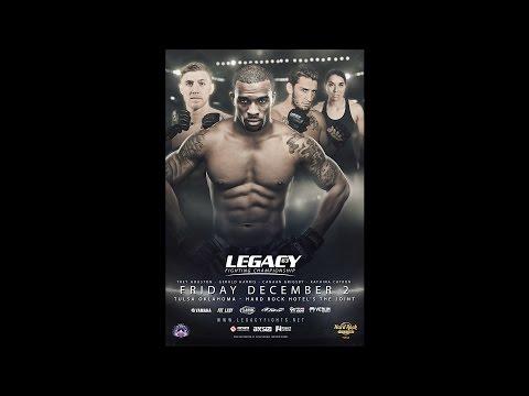 Legacy 63 Prelims - Shaun Bley vs Josh Anderson