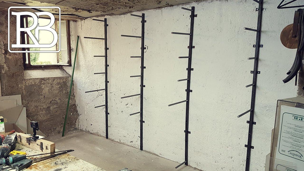 fabriquer rack de rangement a bois 100 modulable diy