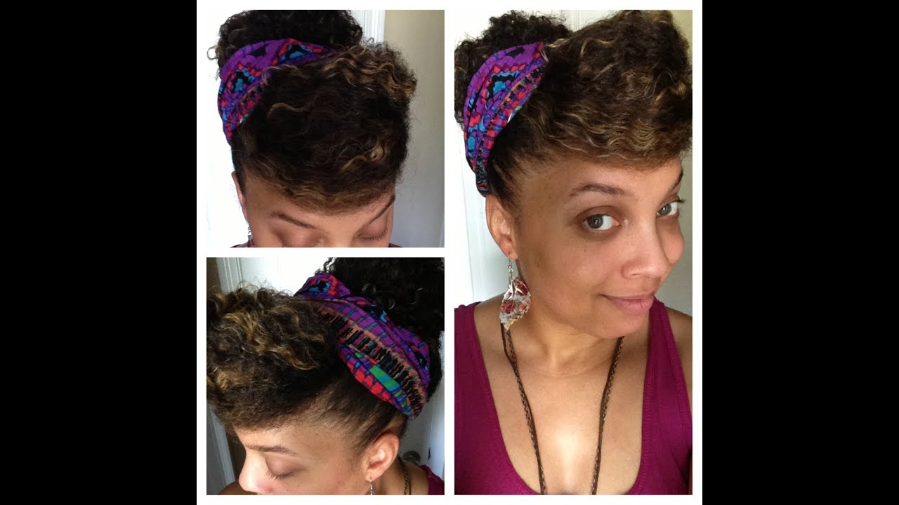Short Curly Hairstyles For Black Women Side Swept