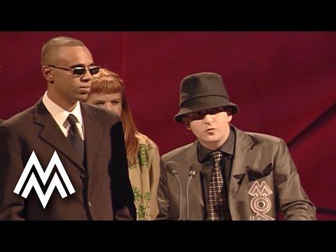 Shanks & Bigfoot | Win 'Best Dance Act' | Acceptance Speech | 1999