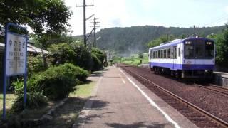 のと鉄道NT200形 西岸駅