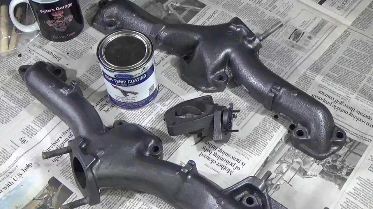 exhaust manifold coating with eastwood high temp coating