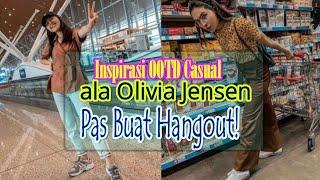 Inspirasi OOTD Casual ala Olivia Jensen, Pas Buat Hangout!