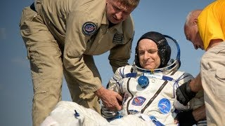 David Saint-Jacques returns after 204 days in space
