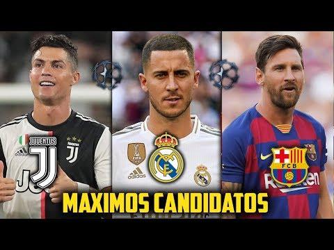 Los 7 Clubes CANDIDATOS a ganar la CHAMPIONS LEAGUE 2019/20