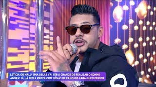 """Hungria Hip Hop canta sucesso """"Um Pedido"""" no Hora do Faro"""
