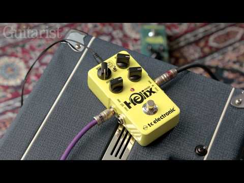 TC Electronic Helix Phaser & Viscous Vibe Review Demo