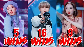 Kpop Songs with Most Wins in Music Shows of 2020!