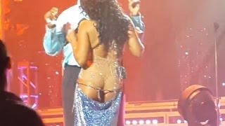Repeat youtube video TONI BRAXTON JOKES ABOUT WARDROBE MALFUNCTION AT CONCERT!