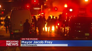 'We Still Have A Lot Of Work To Go': Minneapolis Mayor Speaks With WCCO During Overnight Unrest