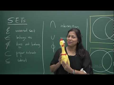 Sets (Elementary Mathematics Secondary 3/4)