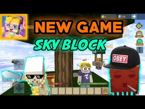 SKY BLOCK, NEW GAME! | Blockman Go