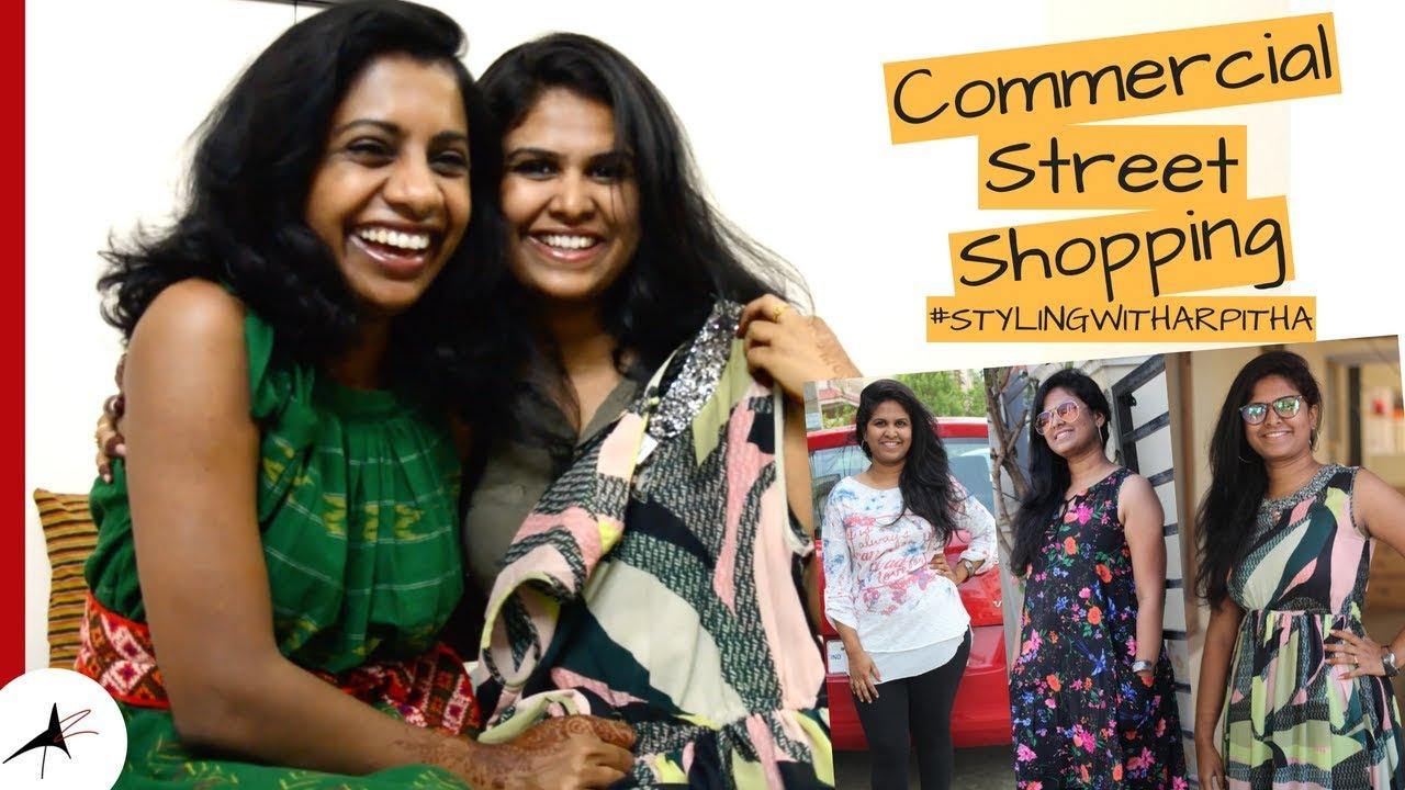 Shopping In Commercial Street Bangalore  Shopping Haul   #STYLINGWITHARPITHA
