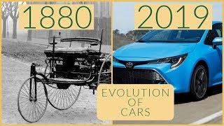 Evolution Of Cars 1880 - 2019
