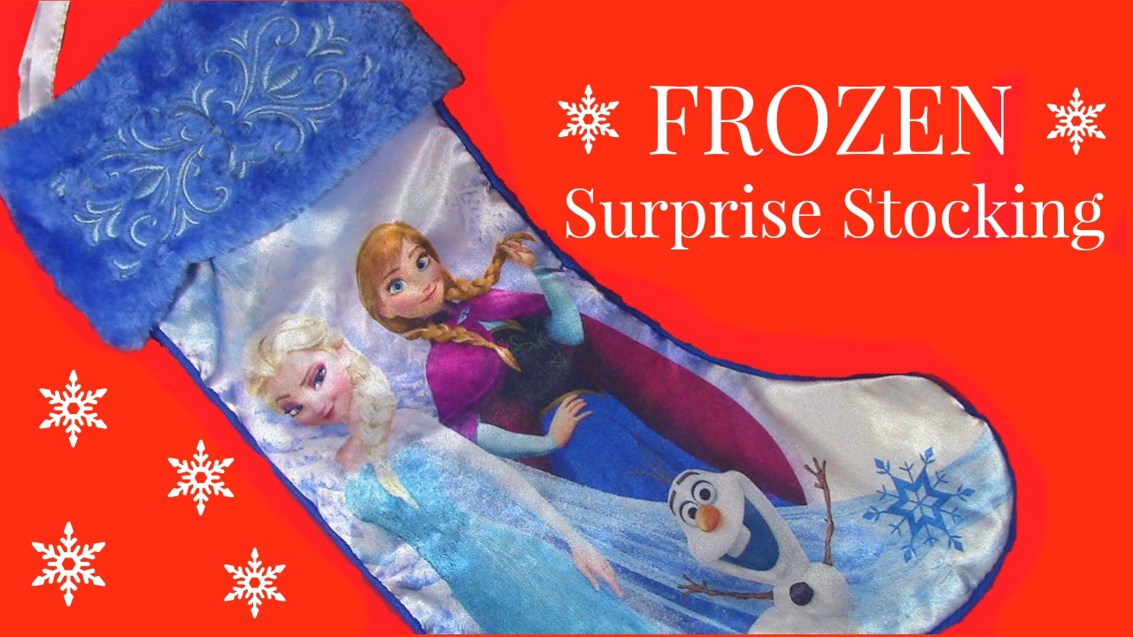 SURPRISE CHRISTMAS STOCKING Frozen Barbie LPS Shopkins 2014 ...