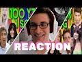 100 Youtuber singen zusammen!! - 1 MILLION Abospecial - Reaction