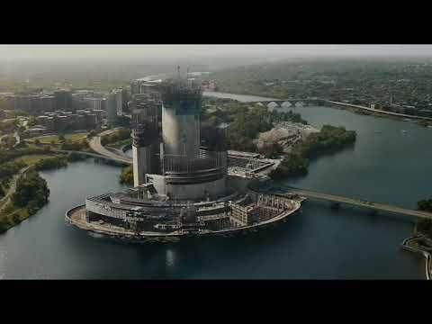 Говард Старк и Хэнк Пим / Вступительная сцена / Человек-муравей (2015)
