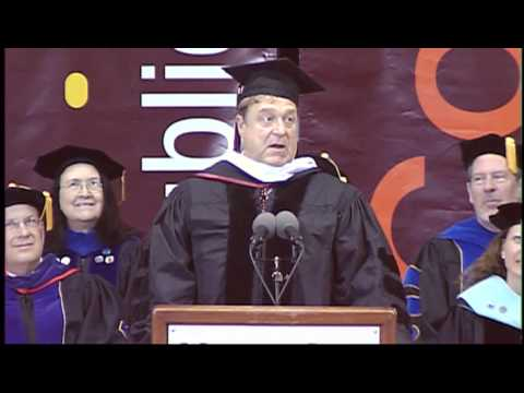 John Goodman receives honorary doctorate