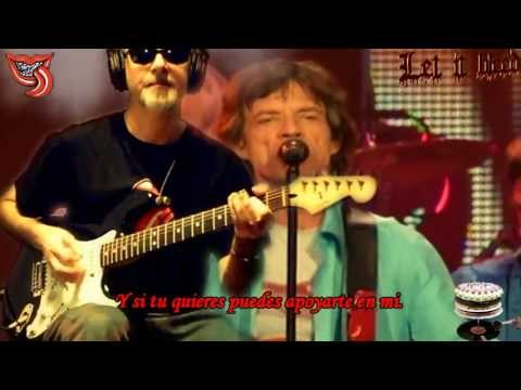 Let it Bleed Open G Subtitulada Español Rolling Stones & RollingBilbao Live Guitar cover
