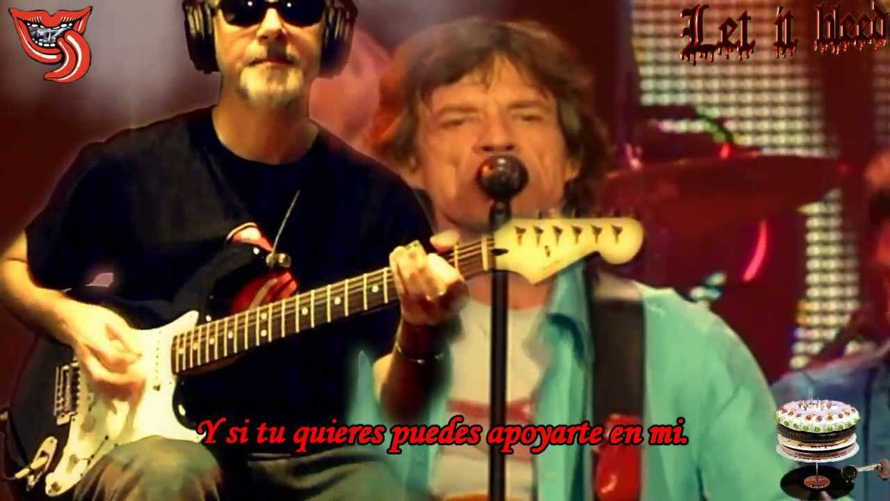 Let it bleed open g subtitulada espaol rolling stones let it bleed open g subtitulada espaol rolling stones rollingbilbao live guitar cover youtube hexwebz Choice Image