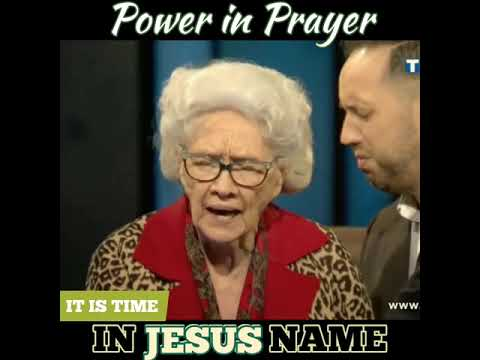 Power In Prayer | Sis. Vesta Mangun