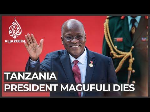 Tanzanian President John Magufuli dies at 61