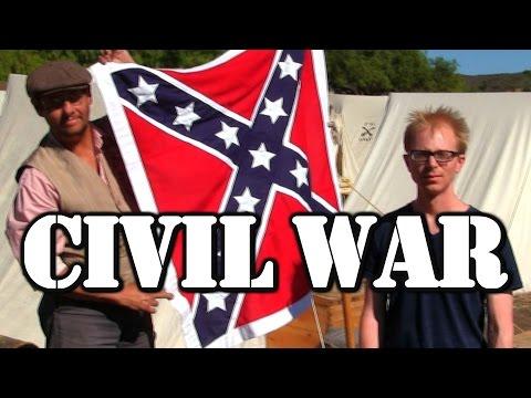 Joe Goes To A Civil War Reenactment