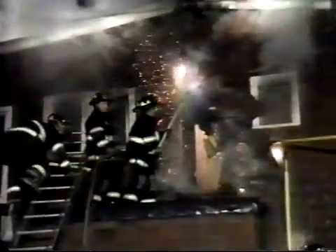 Passaic NJ Fire Dept Throwback to Dec 17th 1997 37 Exchange Pl heavy fire in a private dwelling