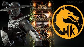 Mortal Kombat 11 Gameplay Kung lao Combos, Tower of Time, Skin, Brutality