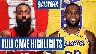 Los Angeles Lakers vs Houston Rockets | September 4, 2020